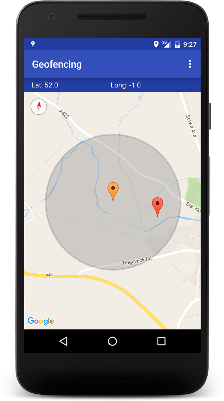 Android Geofence