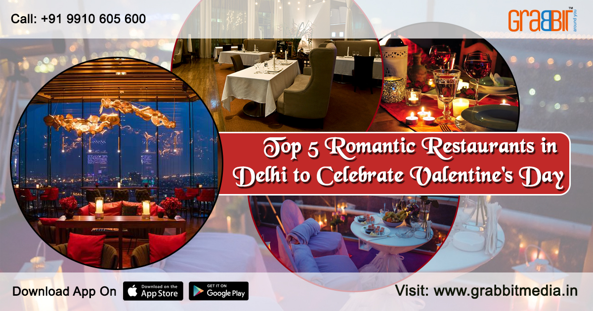 Top 5 Romantic Restaurants in Delhi to Celebrate Valentine's Day
