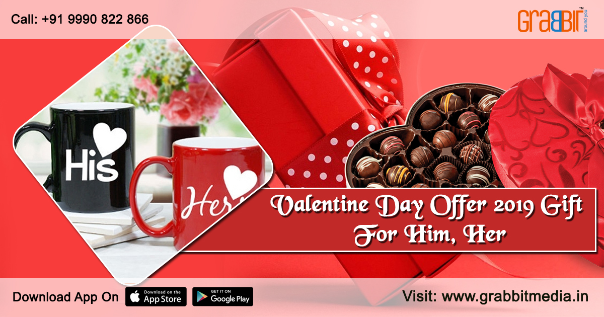 Valentine's Day Offer 2019- Gift for Him, Her