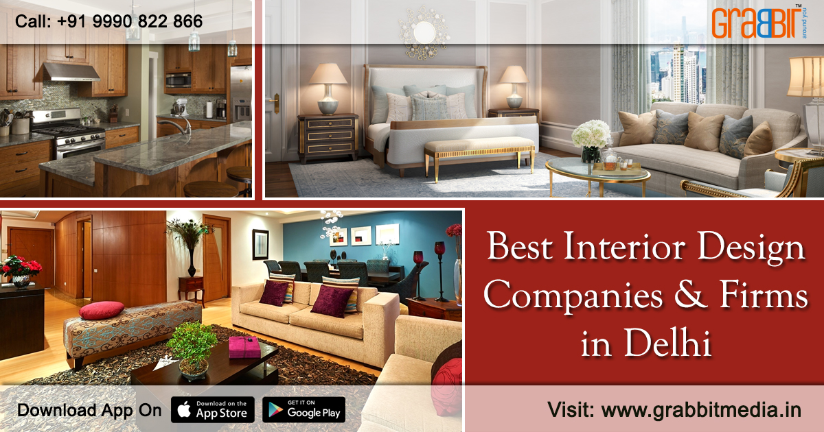 Best Interior Design Companies and Firms in Delhi
