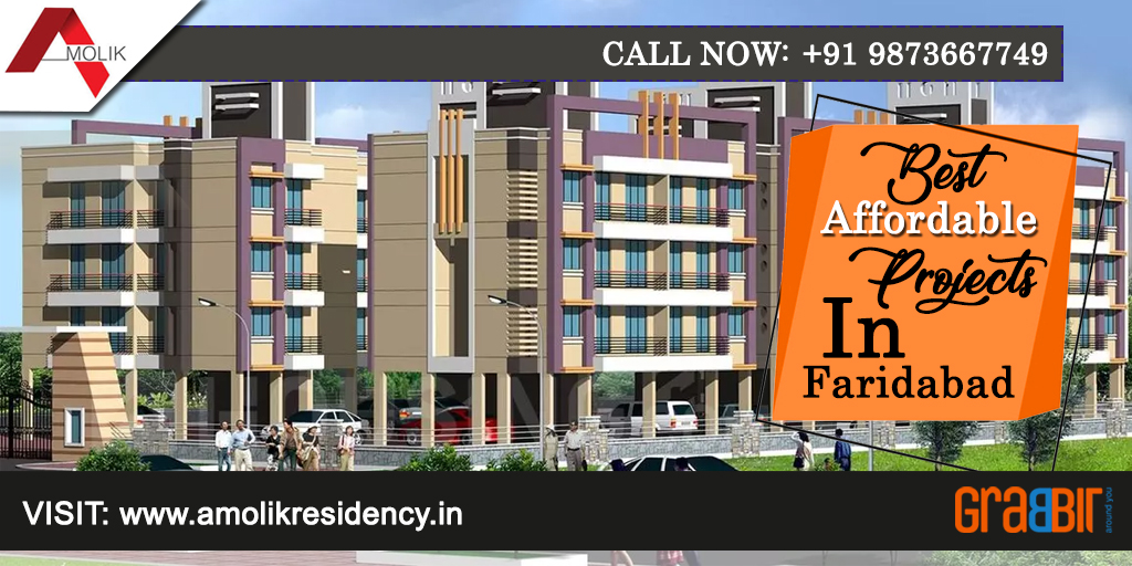 Best Affordable Projects in Faridabad - Amolik Residency