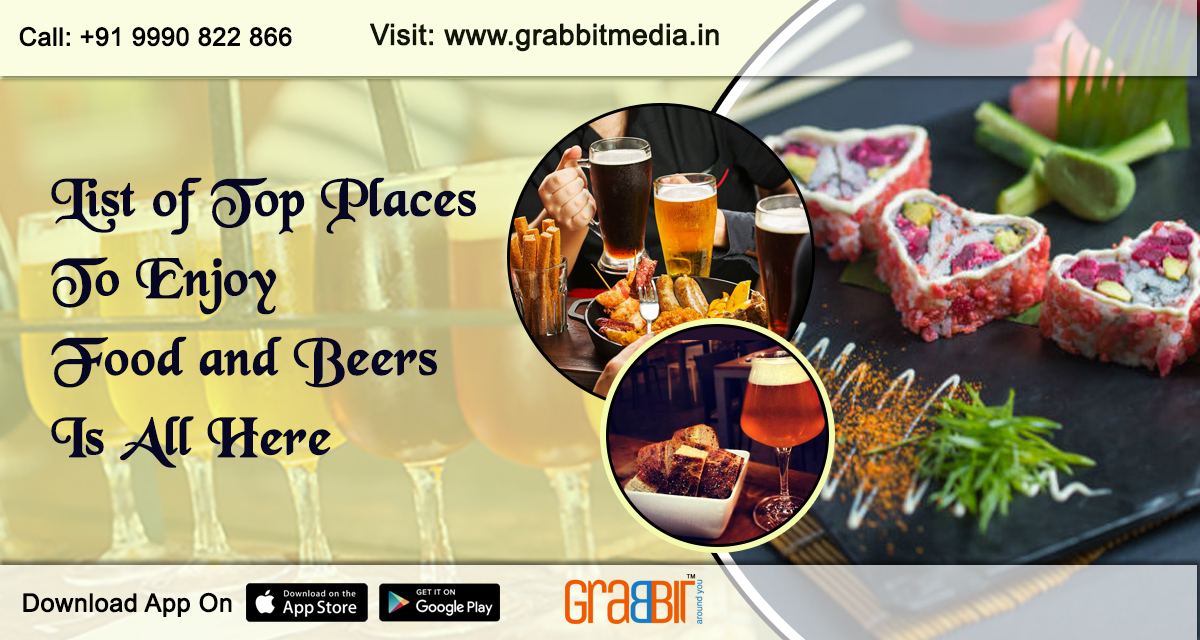 List Of Top Places To Enjoy Food And Beers Is All Here