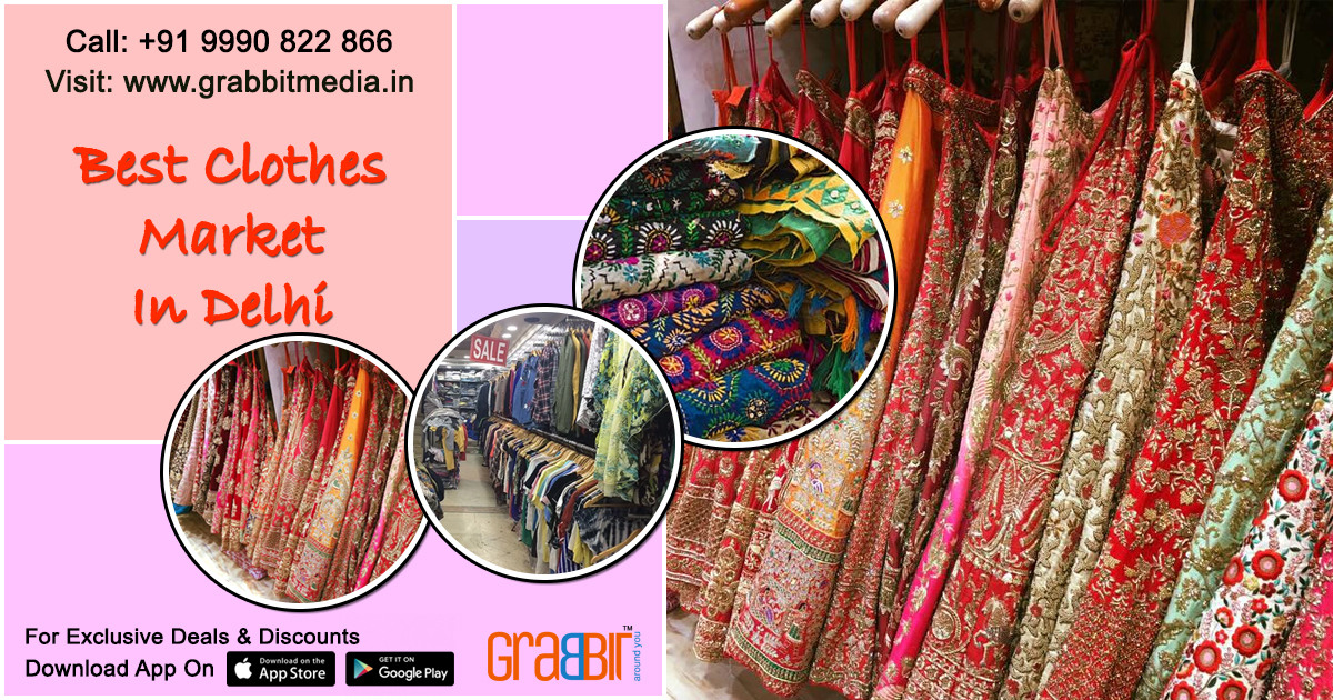 Best Clothes Market in Delhi