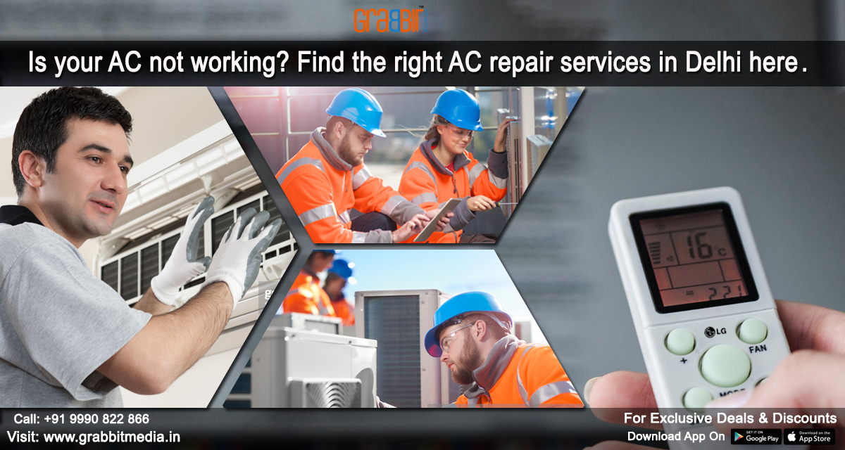 Is your AC not working? Find the right AC repair services in Delhi here