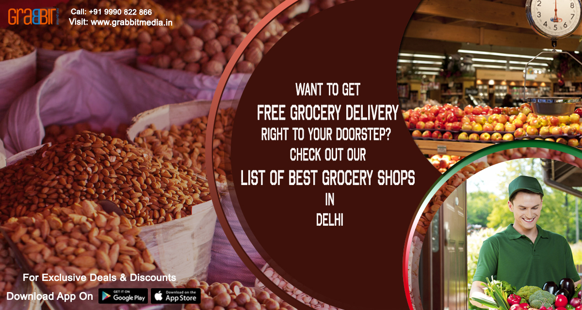 Want to get free grocery delivery right to your doorstep Check out our list of best grocery shops in Delhi