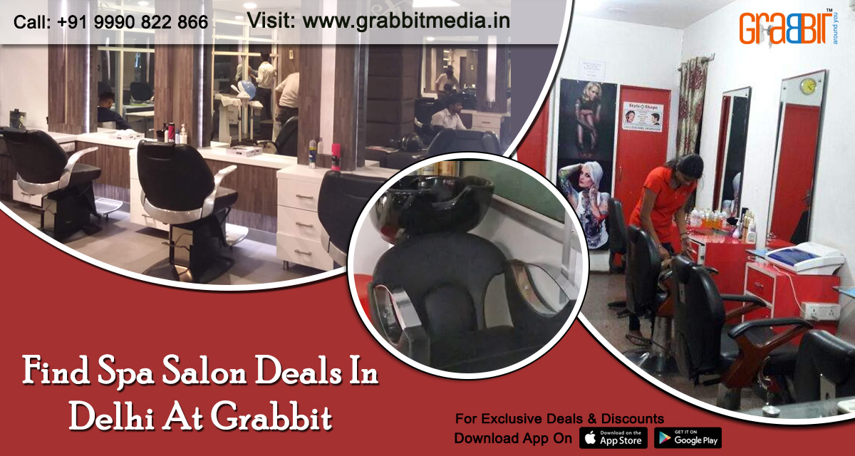 Find Spa Salon Deals in Delhi at Grabbit