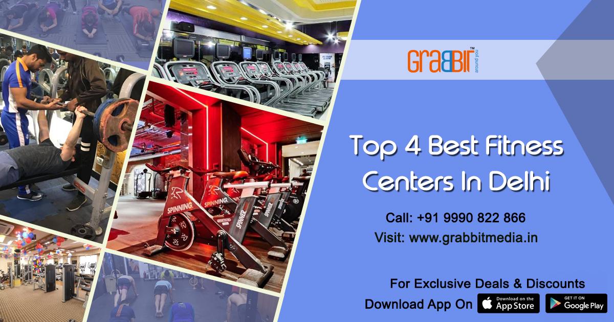 Top 4 Best Fitness Centers in Delhi
