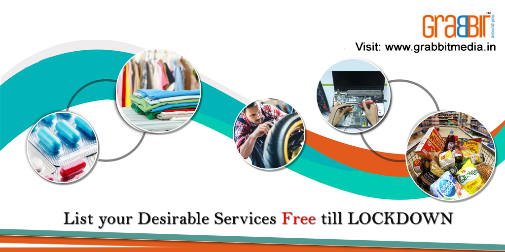 List Your Desirable Services Free Till Lockdown