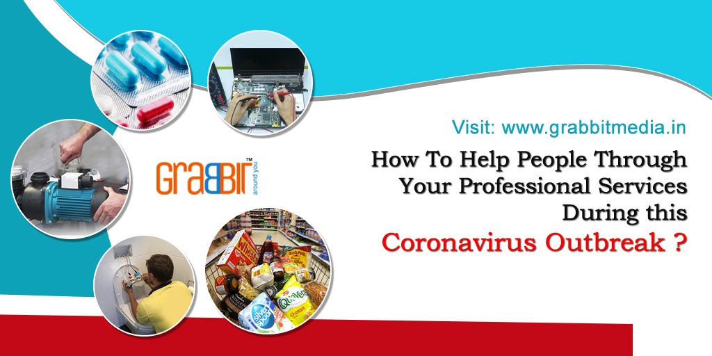 How To Help People Through Your Professional Services During this Coronavirus Outbreak