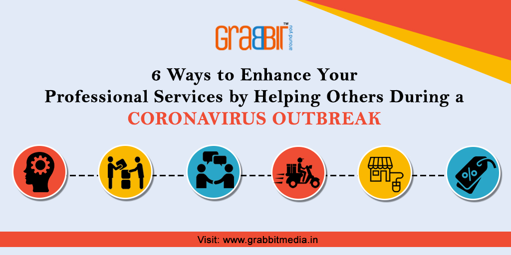 6 Ways to Enhance Your Professional Services by Helping Others During a Coronavirus Outbreak