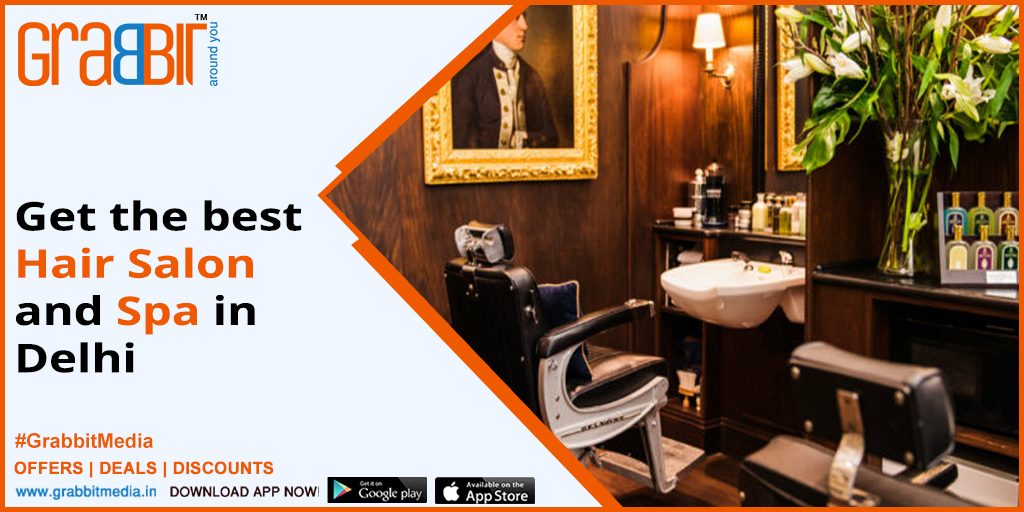 Get the best Hair Salon and Spa in Delhi