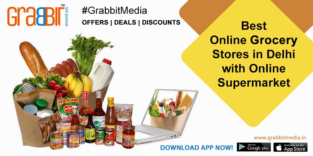 Best Online Grocery Stores in Delhi with Online Supermarket
