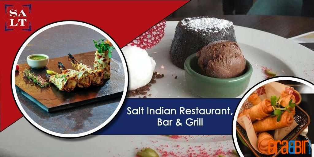 Salt Indian Restaurant, Bar & Grill