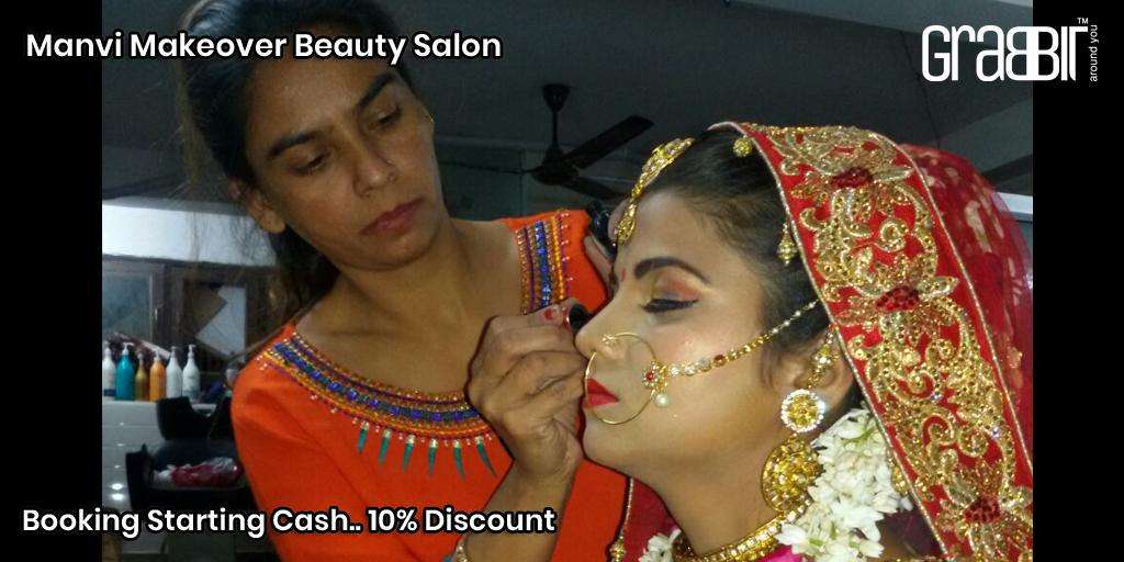 Manvi Makeover Beauty Salon