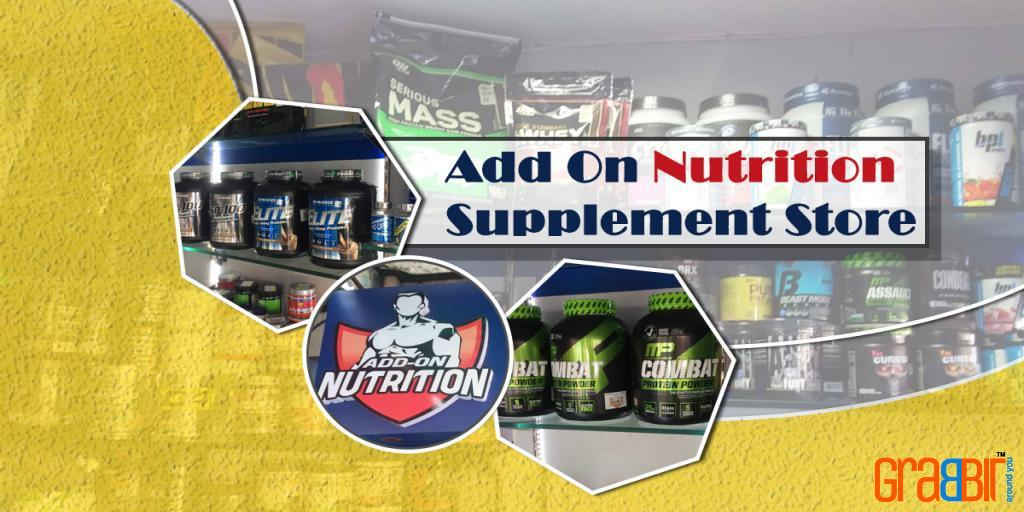 Add On Nutrition Supplement Store