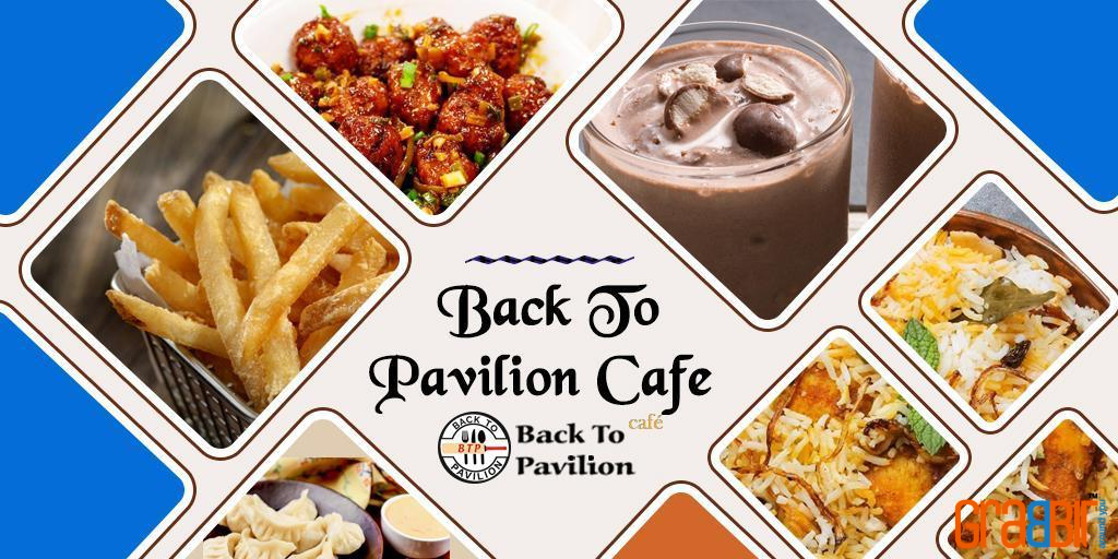 Back To Pavilion Cafe