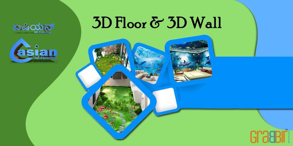 3D Floor & 3D Wall